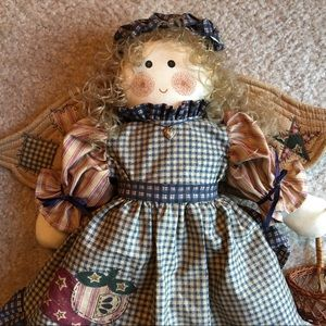 Other - American Primitive Country Heart Angel Cloth Dolll
